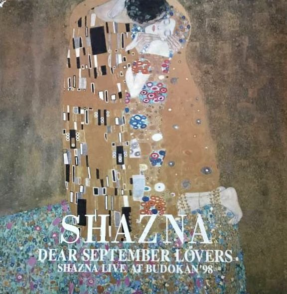 SHAZNA - DEAR SEPTEMBER LOVERS ~SHAZNA LIVE AT BUDOKAN'98~ Box